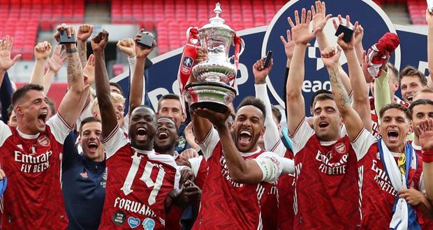 أرسنال بطلًا لكأس الإتحاد الإنكليزي لكرة القدم