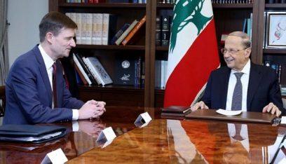 معلومات المدى: هيل نقل للرئيس عون وقوف واشنطن إلى جانب لبنان واهتمامها بالاصلاحات ومكافحة الفساد
