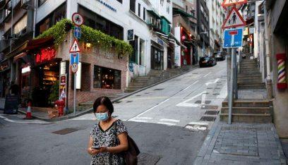 هونغ كونغ تسجل 72 إصابة جديدة بفيروس كورونا