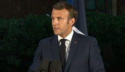 ماكرون: سنواجه تداعيات كارثة مرفأ بيروت مع اللبنانيين