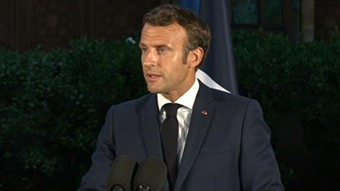 ماكرون: قررت فرض حجر شامل على كامل الأراضي الفرنسية ابتداء من الجمعة