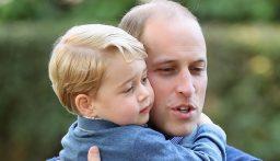 الأمير ويليام يفقد أعصابه خلال تدريس ابنه الأمير جورج!