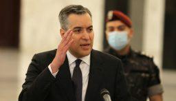 وصول رئيس الحكومة المكلف مصطفى اديب الى قصر بعبدا للقاء الرئيس عون