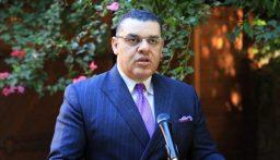 علوي اطلع دياب على رغبة مصر بعقد اجتماع لوزراء الخارجية العرب