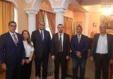 الخطيب يلتقي سفير الجزائر في لبنان وينوّه بالعلاقات الأخوية بين البلدين