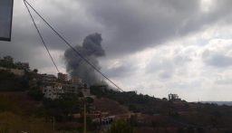 بالفيديو والصور: انفجار قوي في خراج بلدة عين قانا!