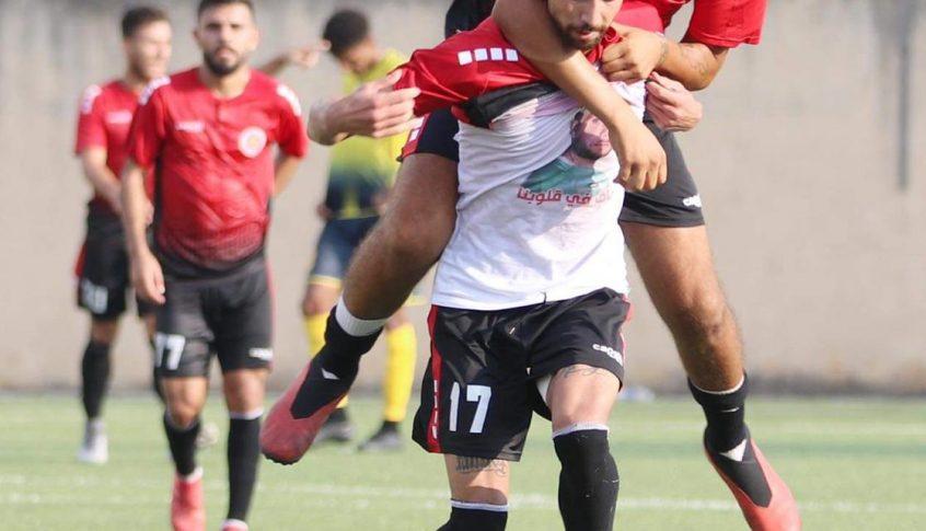 النجمة الفائز على العهد يلتقي الانصار في المباراة النهائية لكأس محمد عطوي