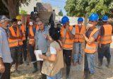 رئيس بلدية قبة شمرا عكار شكر اللبكي على دعم مشروع ري الاراضي الزراعية