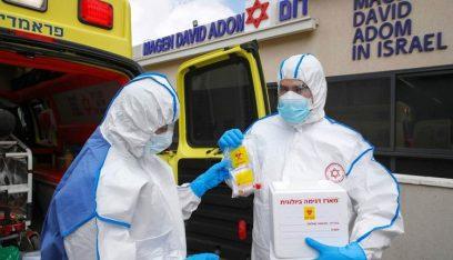 """""""إسرائيل"""".. تسجيل أكثر من 4 آلاف إصابة بكورونا"""