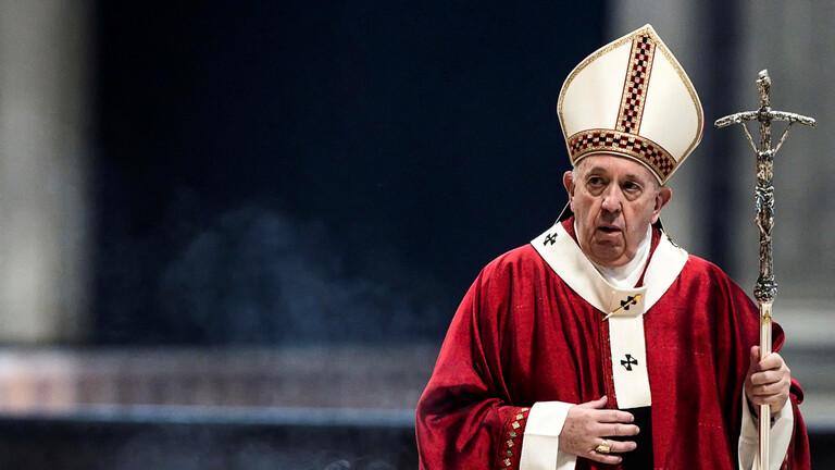 الفاتيكان يعلن تسجيل إصابة بكورونا داخل مقر إقامة البابا