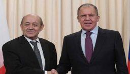 لافروف ولودريان: لا بديل عن التسوية الدبلوماسية في قره باغ