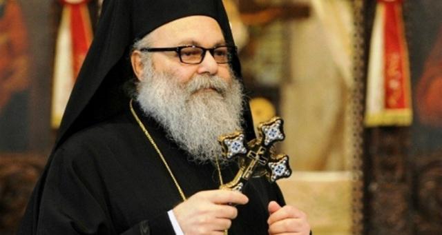 البطريرك يازجي التقى أساقفة الدار البطريركية وكهنة دمشق وريفها