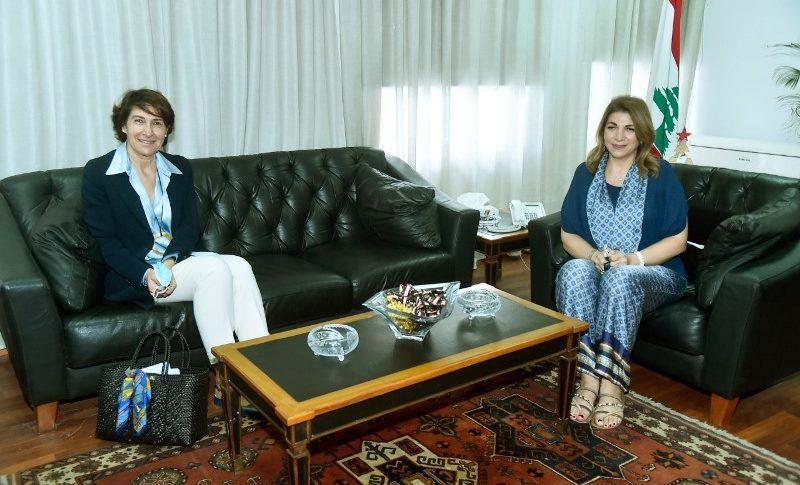 نجم التقت سفيرة فرنسا: لتطبيق الورقة الإصلاحية