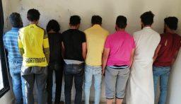 عصابة سرقة من التابعية السورية في قبضة قوى الامن!
