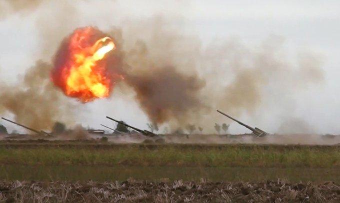 القتال العنيف مستمر على طول خط التماس في كاراباخ