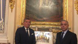 الجمعية العمومية لاعضاء جوقة الشرف في العالم التأمت في باريس: دعم للبنان بعد كارثة المرفأ وميدالية تذكارية لعائلة ميشال اده