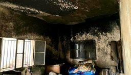 احتراق أجزاء من منزل في شدرا العكارية بسبب احتكاك كهربائي