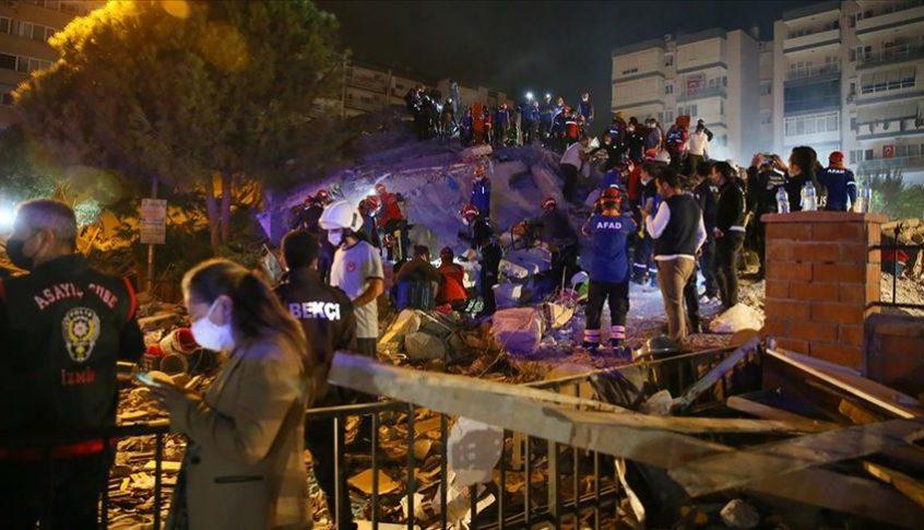 شرقاً وغرباً.. العالم يتضامن مع تركيا إثر زلزال إزمير