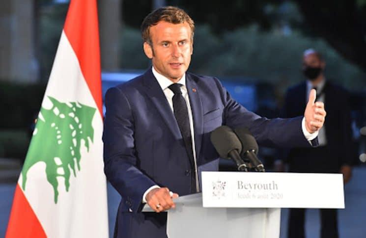 ماكرون متعهدًا بتقديم مساعدات طارئة إلى لبنان: لن يكون هناك شيك على بياض
