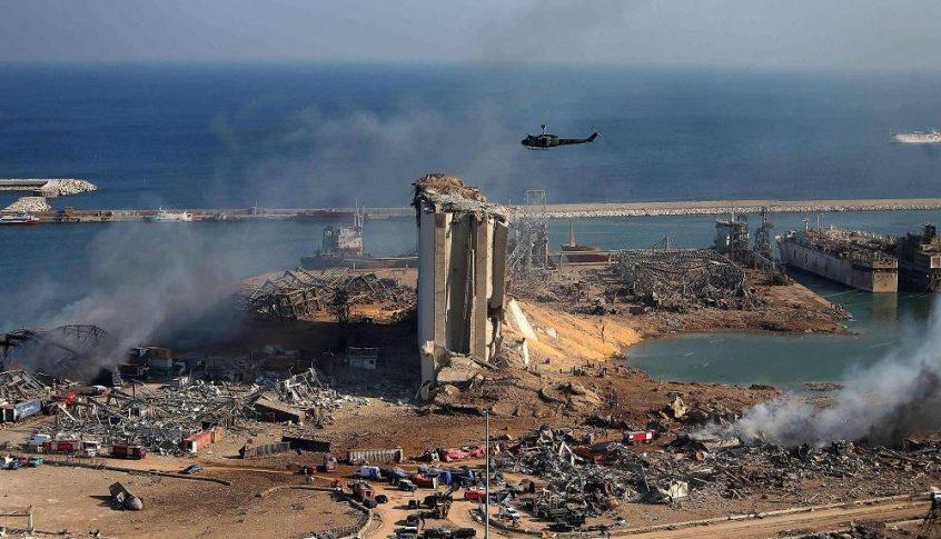 """لبنان وقع عقداً مع شركة المانية للتخلّص من """"مواد خطرة قابلة للاشتعال"""" في المرفأ"""