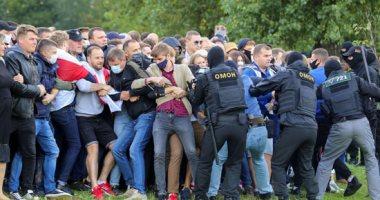 شرطة بيلاروس: اعتقال نحو 250 شخصا خلال احتجاجات في مينسك