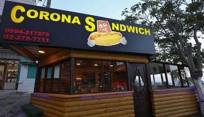 مطعم كورونا يلفت الانتباه في الضفة الغربية