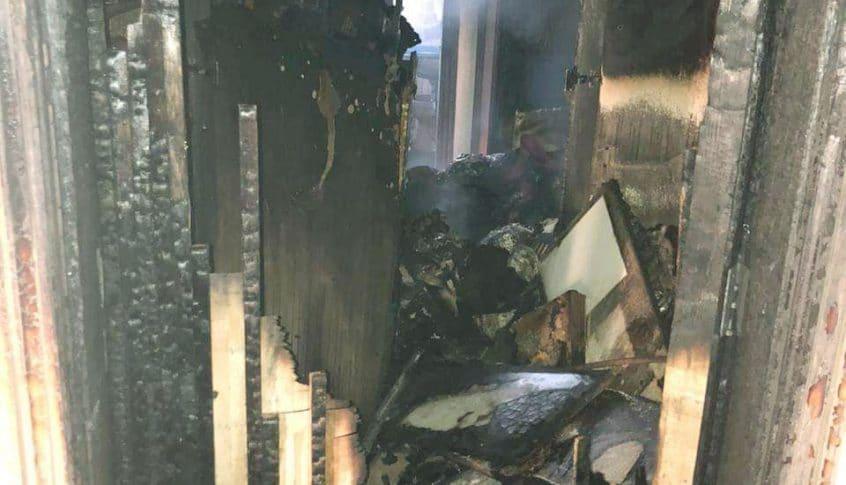 إهماد حريق داخل منتجع سياحي في الكسليك