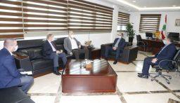 حسن تابع مع عبد الله تأهيل مؤسسات صحية واستشفائية في الشوف والجبل