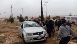 قتيل و14 جريحا في 10 حوادث سير