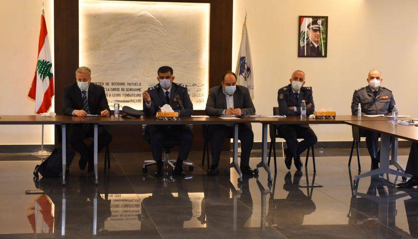لجنة الطوارىء في السجون أقرت تحديث إجراءات الحماية وتطويرها والتشدد بالوقاية