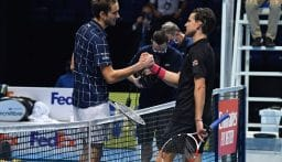 ميدفيديف يحصد البطولة الختامية لموسم التنس