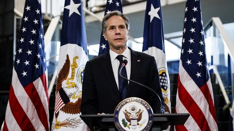 بلينكن: بالنسبة لإدارة بايدن الدبلوماسية أولاً وليس الخيار العسكري