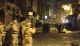 الجيش يطارد المخلين بالامن في الاسواق الداخلية لطرابلس