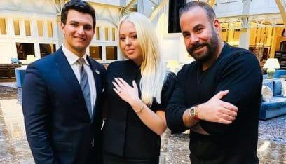 """""""صهر"""" ترامب اللبناني يختار لخطيبته خاتم ألماسي نادر! (صور)"""