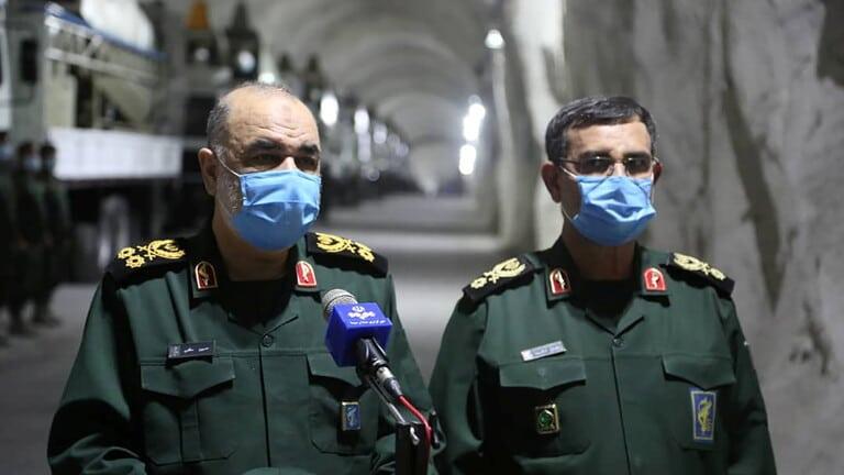 الحرس الثوري الإيراني يعلن عن أحد أهداف صواريخه البالستية