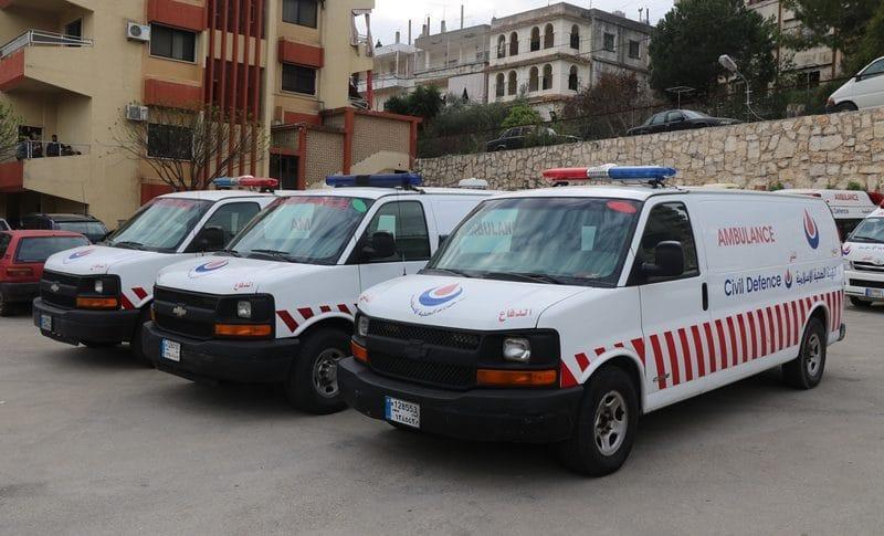 الدفاع المدني في الهيئة الصحية: 185 مهمة في 24 ساعة