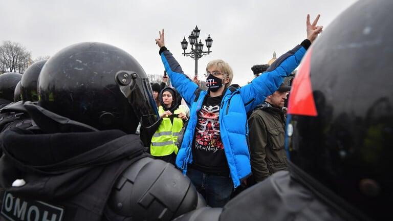 روسيا.. تحقيقات جنائية في أعمال عنف خلال تظاهرات أنصار نافالني