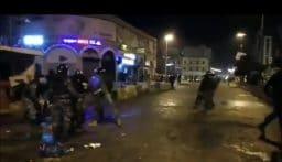 الاحتجاجات مستمرة في طرابلس وسقوط جريح من عناصر قوى الامن
