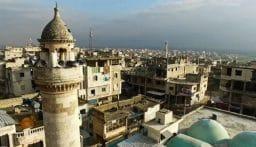 انفجار في مدينة بنش بريف إدلب السورية