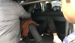 قوى الأمن عثرت على شخص مكبل اليدين داخل سيارة