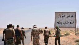 الجيش السوري يؤمن طريق دير الزور – تدمر أمام حركة المواطنين