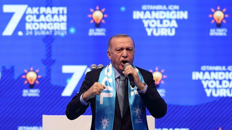 أردوغان: رددنا على سفاح نيوزلندا بإعادة افتتاح مسجد آيا صوفيا