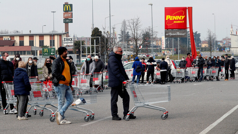 إيطاليا تسجل 1197 إصابة و28 وفاة بكورونا