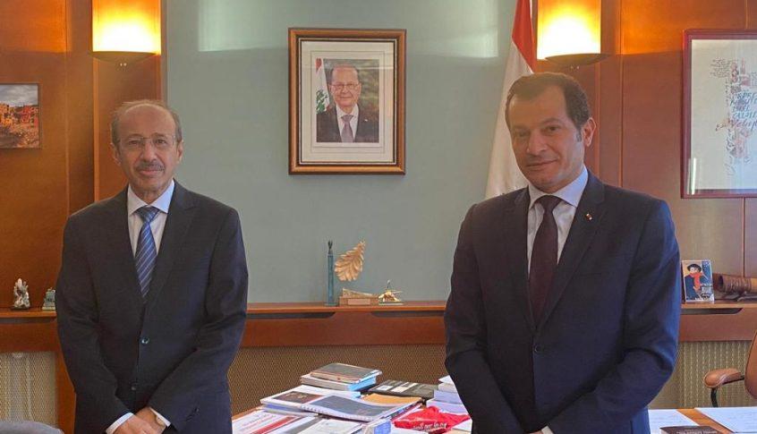 سفير لبنان في فرنسا تداول مع نظيره السعودي بتطورات العلاقات الثنائية والإقليمية