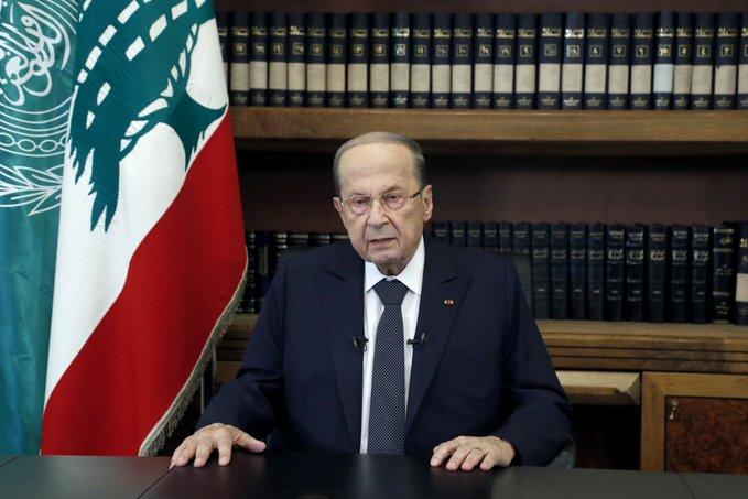 الرئيس عون عرض مع وزيرة الدفاع استئناف المفاوضات غير المباشرة لترسيم الحدود