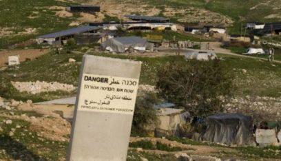 أوروبا والأمم المتحدة تطالبان إسرائيل بوقف هدم منشآت البدو في غور الأردن