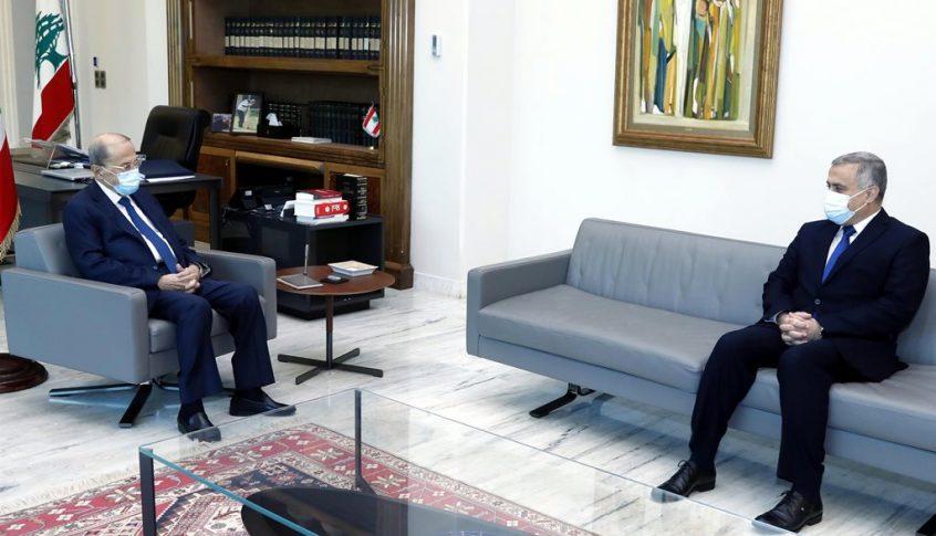 الرئيس عون عرض شؤونا سياسية وتربوية واجتماعية مع النائبين طرابلسي وحسين