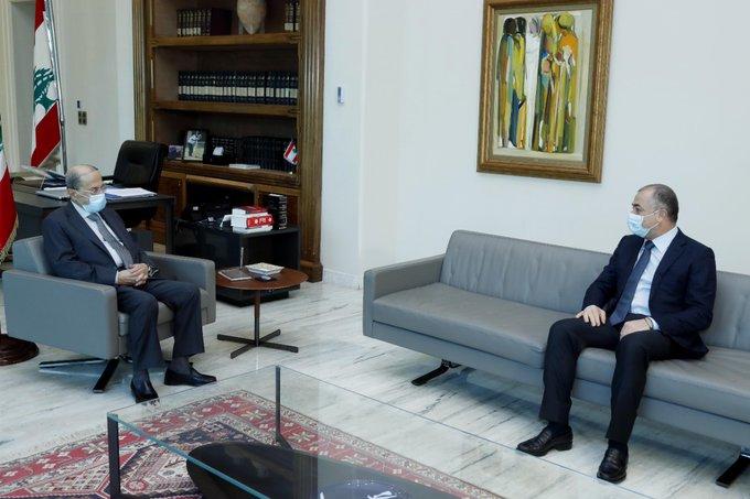 الرئيس عون استقبل بو صعب وعرض معه التطورات الحكومية