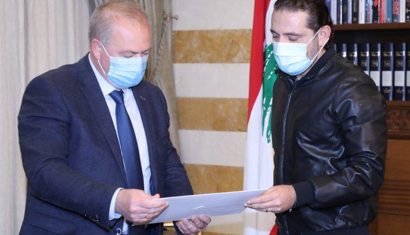 الحريري بحث والسفير الروسي مجمل الأوضاع العامة والعقبات التي تعترض تشكيل الحكومة الجديدة