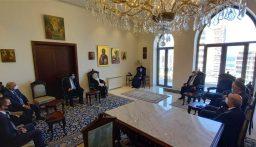 وفد كتلة المستقبل زار عوده: الحفاظ على حقوق اللبنانيين يبدأ باحترام الدستور
